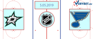 Даллас — Сент-Луис 5 мая 2019 прогноз