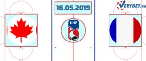 Канада — Франция 16 мая 2019 прогноз