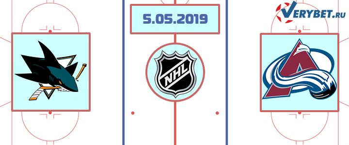 Сан-Хосе — Колорадо 5 мая 2019 прогноз