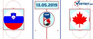 Словакия — Канада 13 мая 2019 прогноз