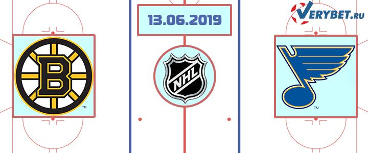 Бостон — Сент-Луис 13 июня 2019 прогноз