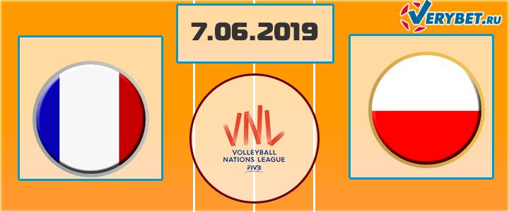 Франция - Польша 7 июня 2019 прогноз
