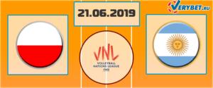 Польша — Аргентина 21 июня 2019 прогноз