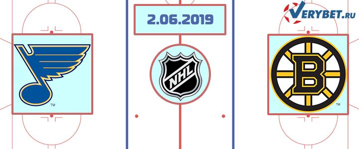 Сент Луис – Бостон 2 июня 2019 прогноз