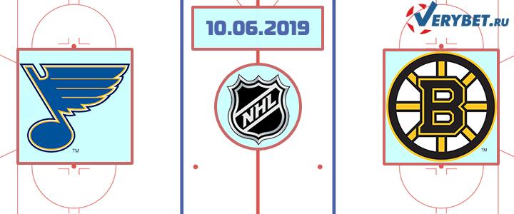Сент Луис – Бостон 10 июня 2019 прогноз
