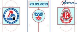 Локомотив — Витязь 20 сентября 2019 прогноз