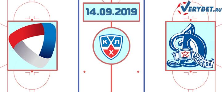 Северсталь — Динамо Москва 14 сентября 2019 прогноз