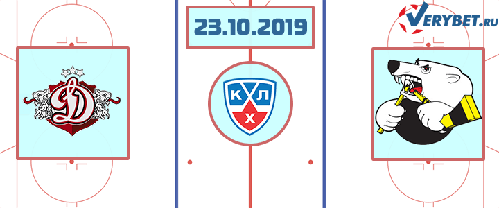 Динамо Рига — Трактор 23 октября 2019 прогноз