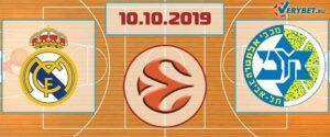 Реал Мадрид – Маккаби Тель-Авив 10 октября 2019 прогноз