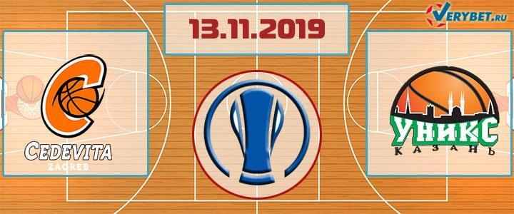 Цедевита Олимпия – УНИКС 13 ноября 2019 прогноз