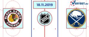 Чикаго — Баффало 18 ноября 2019 прогноз