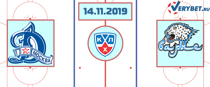 Динамо Москва — Барыс 14 ноября 2019 прогноз