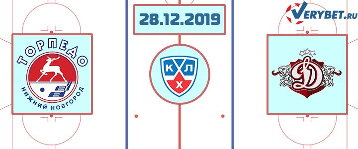 Торпедо – Динамо Рига 28 декабря 2019 прогноз