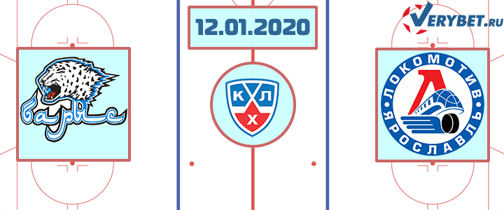 Барыс — Локомотив 12 января 2020 прогноз