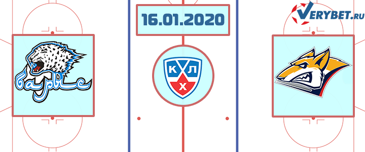Барыс — Металлург Магнитогорск 16 января 2020 прогноз