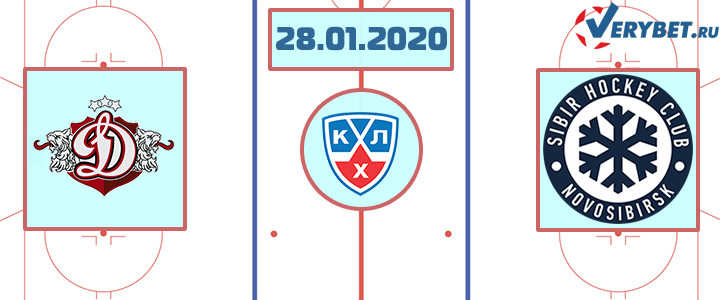 Динамо Рига – Сибирь 28 января 2020 прогноз
