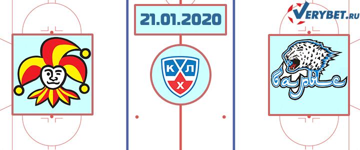 Йокерит — Барыс 21 января 2020 прогноз