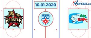 Куньлунь РС — Ак Барс 16 января 2020 прогноз