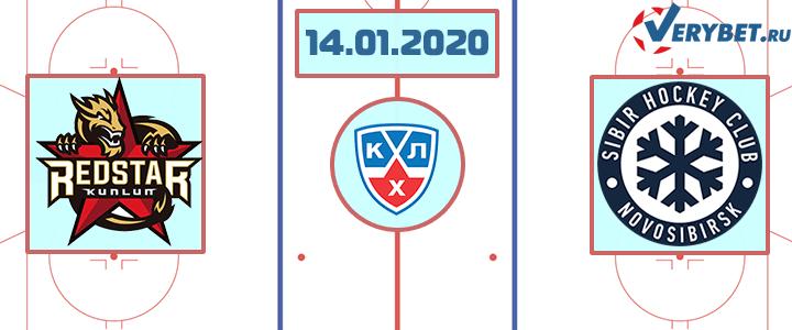 Куньлунь РС — Сибирь 14 января 2020 прогноз