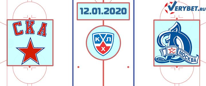 СКА — Динамо Москва 12 января 2020 прогноз
