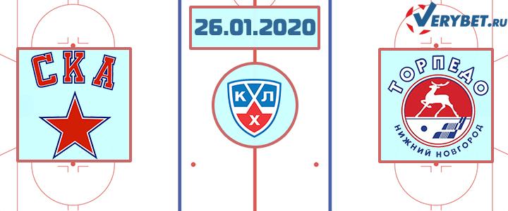 СКА – Торпедо 26 января 2020 прогноз