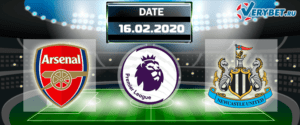 Арсенал – Ньюкасл 16 февраля 2020 прогноз