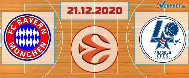 Бавария – Анадолу Эфес 21 февраля 2020 прогноз