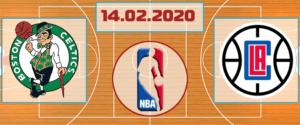 Бостон Селтикс – Лос-Анджелес Клипперс 14 февраля 2020 прогноз