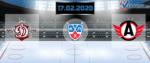 Динамо Рига — Автомобилист 17 февраля 2020 прогноз