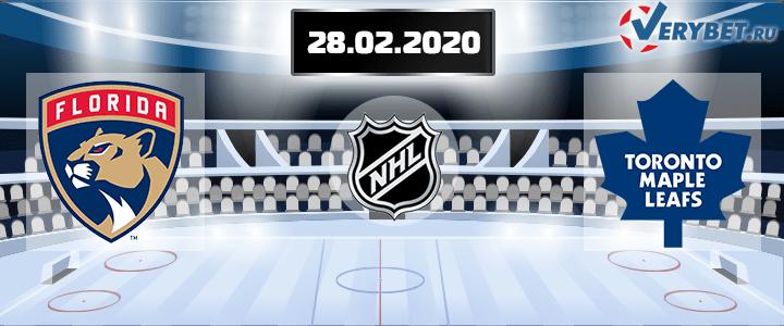 Флорида — Торонто 28 февраля 2020 прогноз