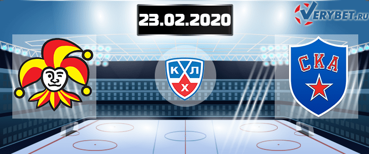 Йокерит — СКА 23 февраля 2020 прогноз