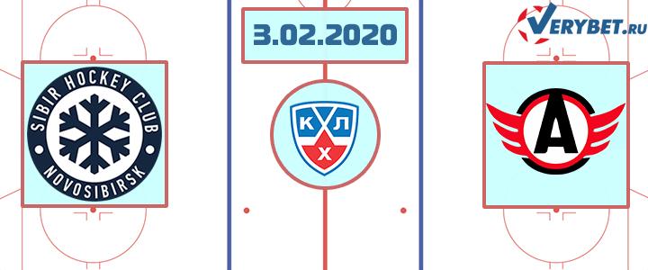 Сибирь — Автомобилист 3 февраля 2020 прогноз