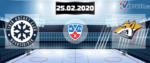 Сибирь — Металлург 25 февраля 2020 прогноз