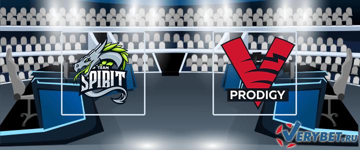 Team Spirit – VP.Prodigy 27 апреля 2020 прогноз