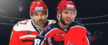 Вей и Доус вновь объединятся в составе лидера КХЛ