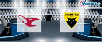mousesports – Team Dignitas 1 июня 2020