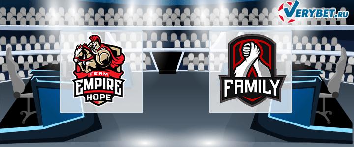 Team Empire Hope – Family Team 5.06.2020 Dota 2