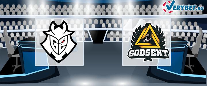 G2 Esports – GODSENT 27 июня 2020 прогноз