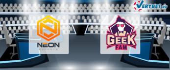 Neon Esports – Geek Fam 27 июня 2020 прогноз