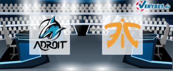 Team Adroit – Fnatic 25 июня 2020 прогноз
