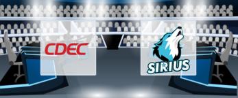 CDEC Gaming – Team Sirius