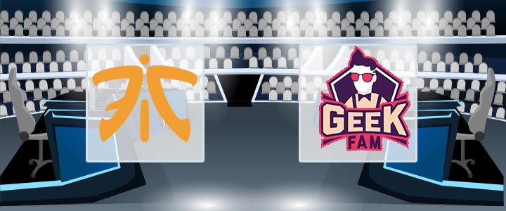Fnatic – Geek Fam 10 июля 2020 прогноз