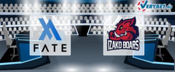 FATE eSports – Izako Boars 6 июля 2020 прогноз