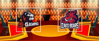 S-Gaming – Izako Boars 27 июля 2020 прогноз