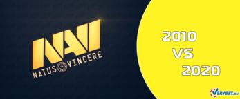 Шоу-матч по КС: NAVI 2010 – NAVI 2020 1 августа 2020