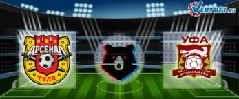 Арсенал Тула – Уфа 14 августа 2020 прогноз