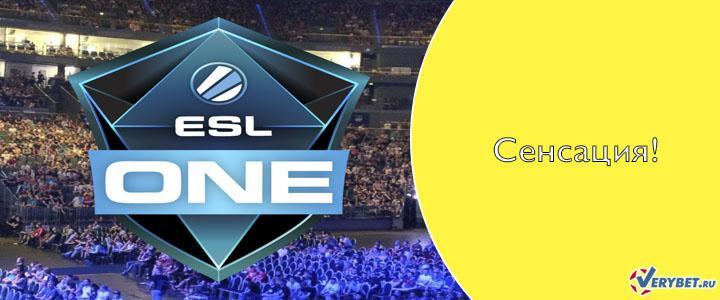 ESL One: Cologne 2020 Online – Europe завершился сенсацией
