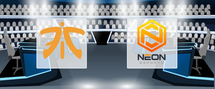 Fnatic – Neon Esports 23 сентября 2020 прогноз
