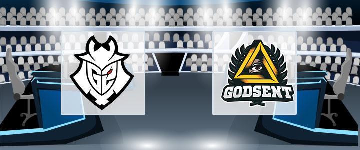G2 eSports – GODSENT 3 сентября 2020 прогноз
