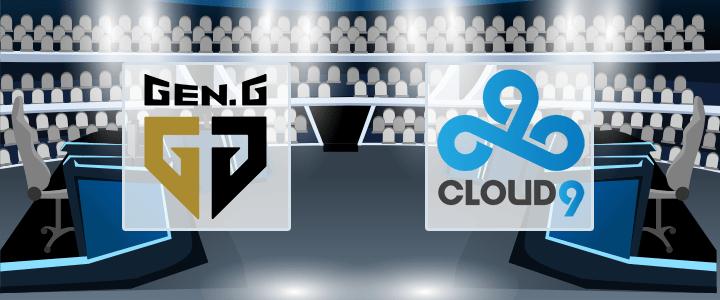 Gen.G – Cloud9 22 сентября 2020 прогноз
